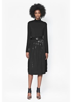 Foil Pleated Skirt