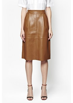 Patrice Faux Leather Skirt
