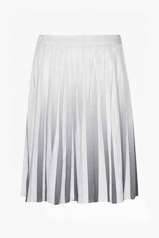 Complete the Look Miami Dip Dye Pleated Skirt