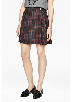 Soho Check Pleated Skirt
