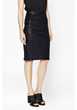 Cobra Foil Pencil Skirt