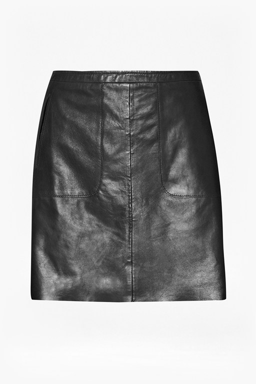 Complete the Look Jetson Leather Skirt