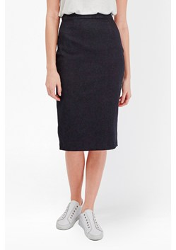 Svelte Denim Pencil Skirt