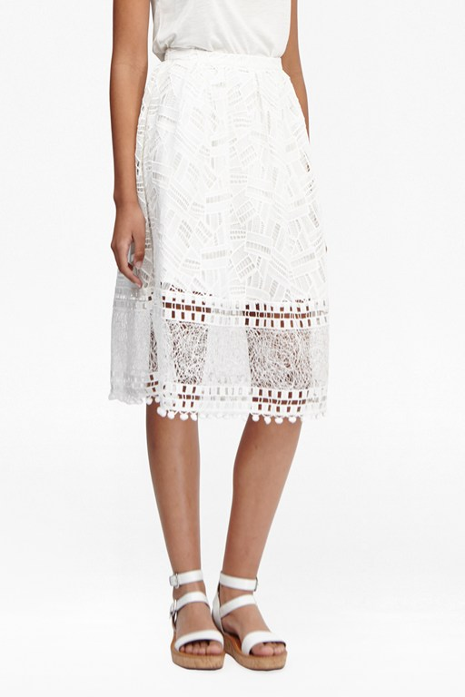 freddy lace skirt
