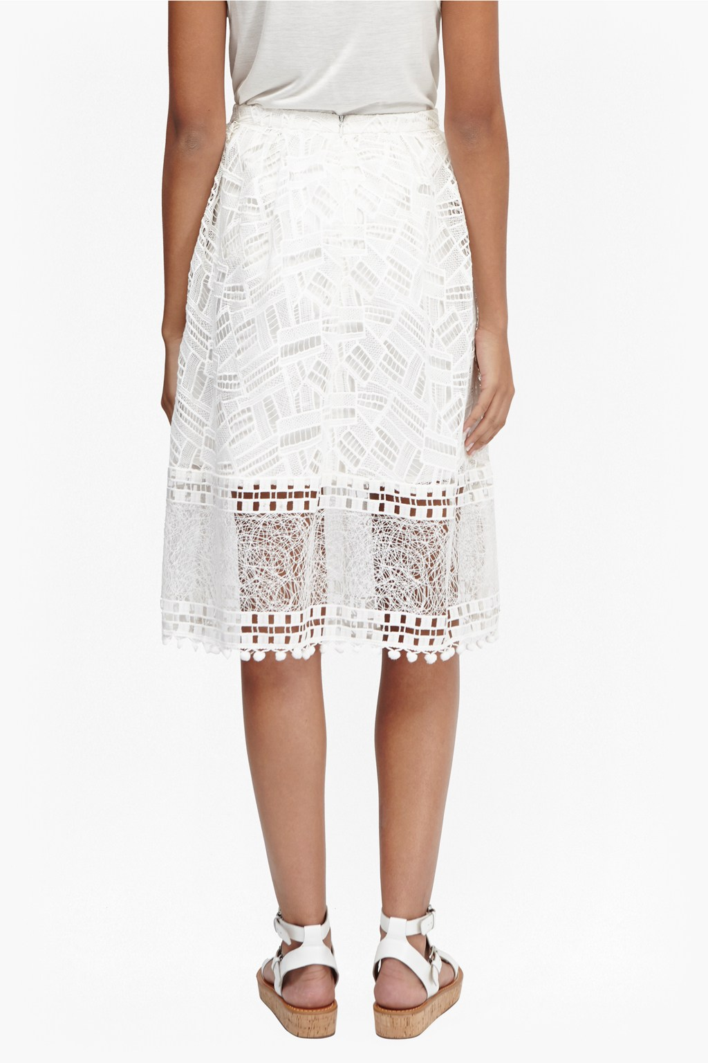 Freddy Lace Skirt | Collections | French Connection