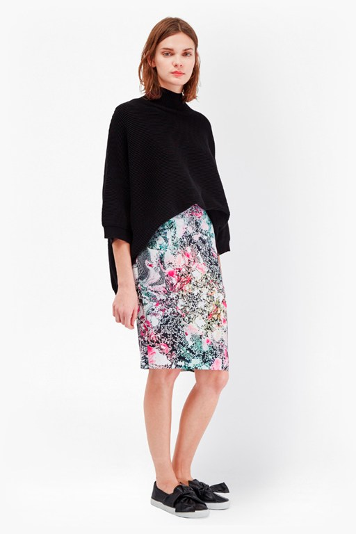 mineral pool pencil skirt