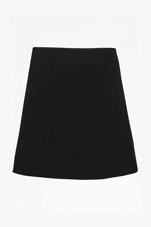 Complete the Look Sundae Suiting Mini Skirt