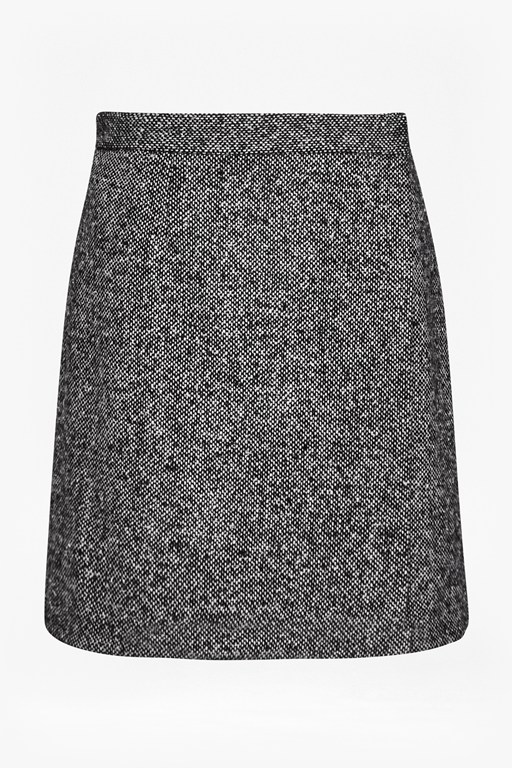 Complete the Look Rupert Tweed Wrap Mini Skirt