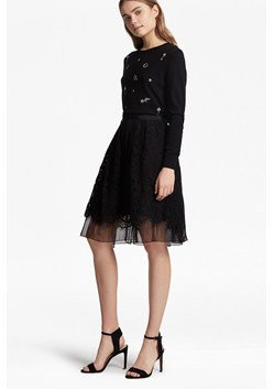 Spotlight Lace Flared Skirt