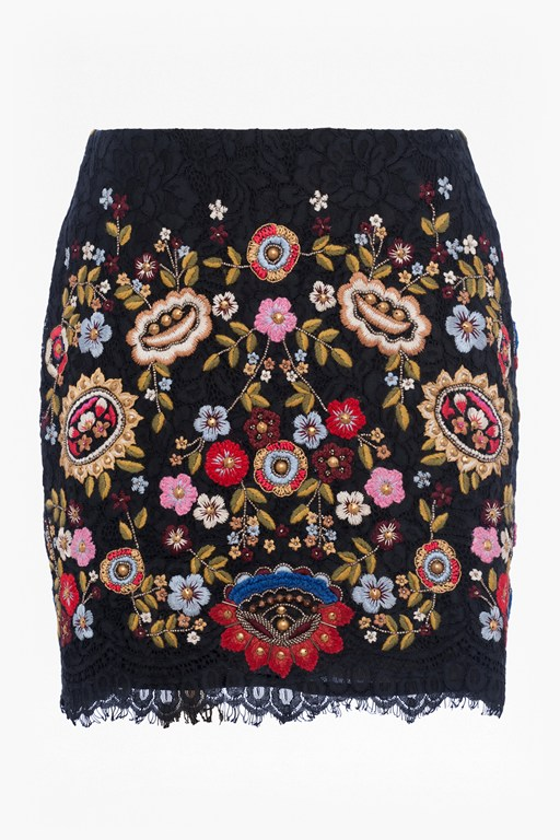 Complete the Look Mazie Floral Mini Skirt