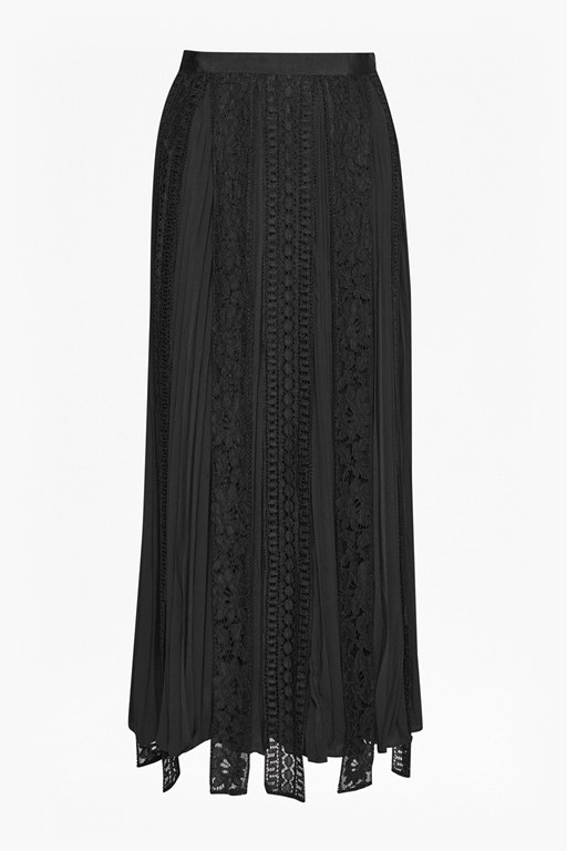Complete the Look Classic Crepe Light Woven Maxi Skirt