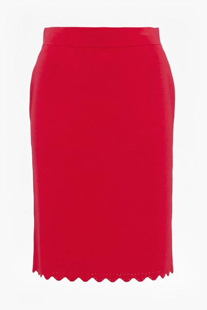 Lela Knit Pencil Skirt
