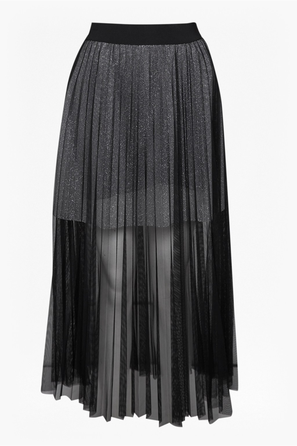 407448b1c Daphne Lurex Jersey Midi Skirt   Collections   French Connection