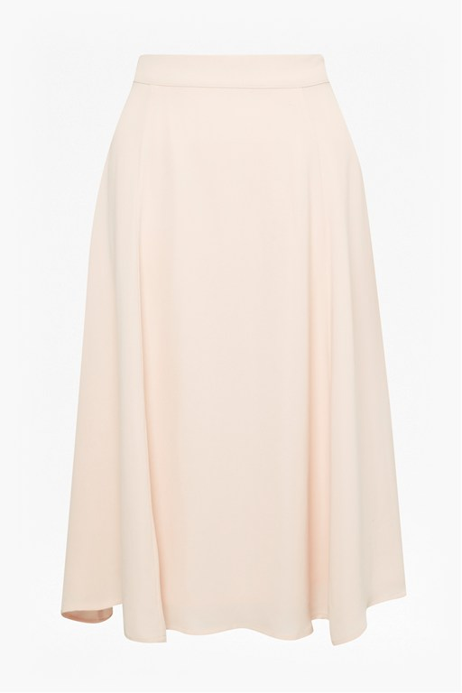 arimi crepe flared skirt