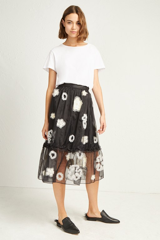 Complete the Look Josephine Embellished Full Skirt