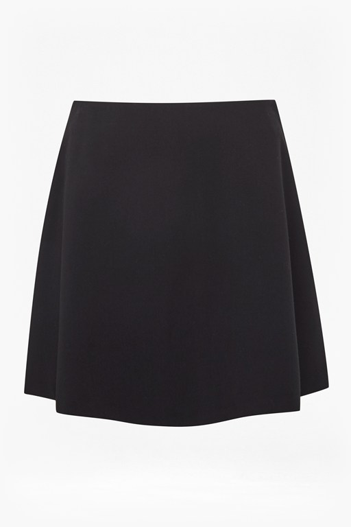 whisper ruth a line mini skirt