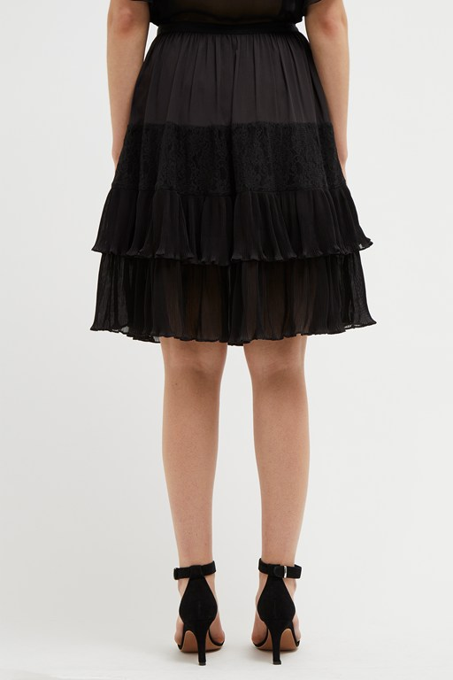 Complete the Look Clandre Vintage Lace Mix Skirt