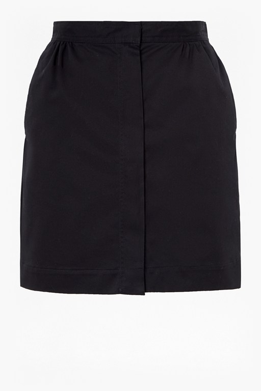 colrane cotton mini skirt