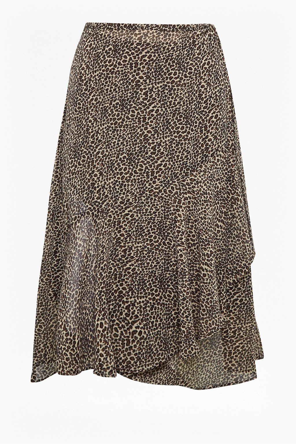 9f9a388c9 Animal Print Wrap Midi Skirt | Collections | French Connection