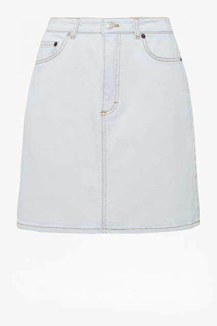 Lamier Denim Mini Skirt