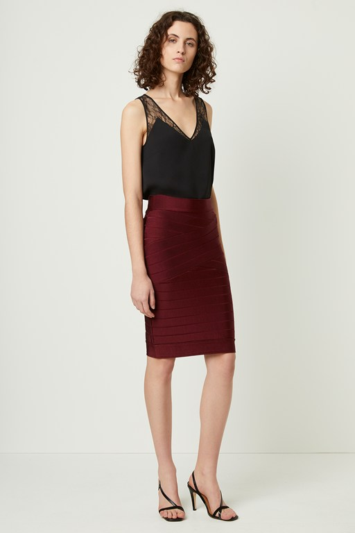 zasha spotlight knits pencil skirt