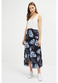 Caterina Crepe Floral Wrap Skirt