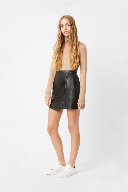 Arianna PU Mini Skirt