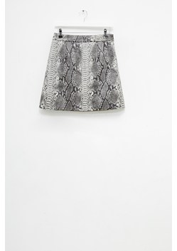 Elias PU Reptile Mini Skirt