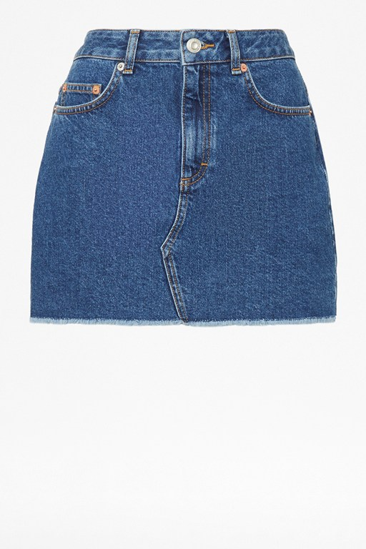 Complete the Look Leona Denim Mini Skirt