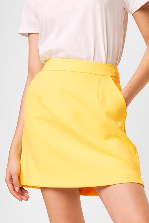 adisa sundae neon tailored mini skirt
