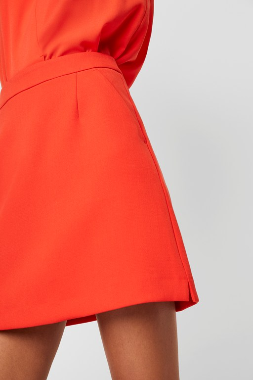Complete the Look Adisa Sundae Neon Tailored Mini Skirt