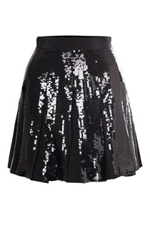 Glacier Sequin Flared Skirt
