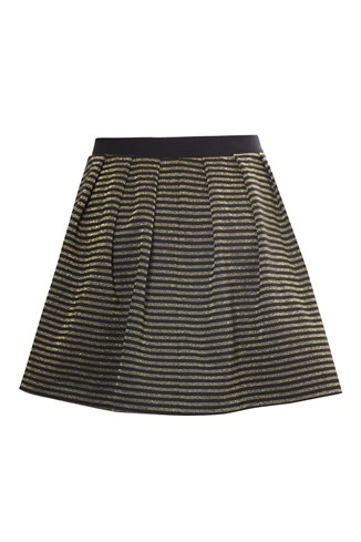 Lara Lurex Flared Skirt