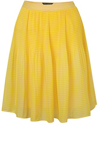 French Connection Primrose Stripe Mini Flareskirt