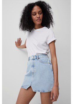 Poppie Organic Denim Mini Skirt