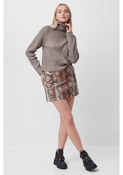 Bonnie Snake Print Mini Skirt