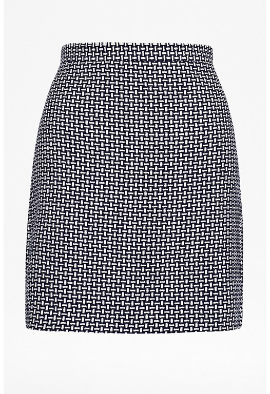 Fast Bonser Check Skirt