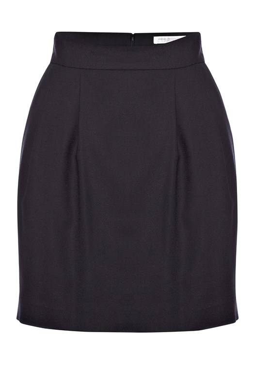 Solo Crepe Mini Skirt