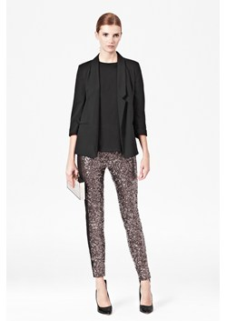 Tuxedo Sequinned Leggings