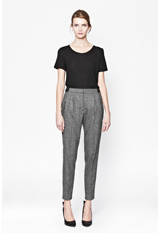 Pepper Tweed Trousers