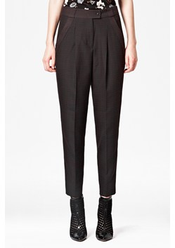 Graph Checked Trousers