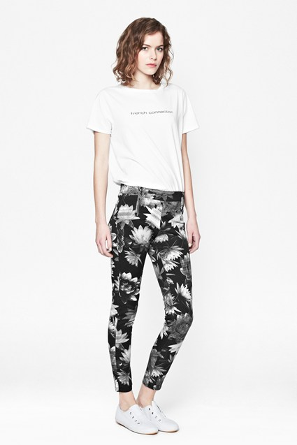 Lotus Denim Leggings