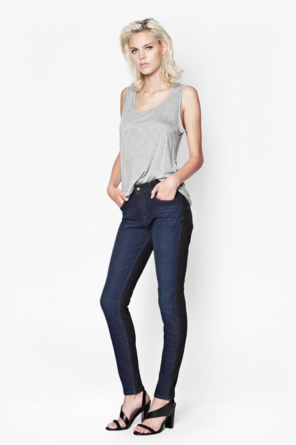 Summer Tiffany Two-Tone Jeans