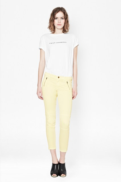 Summer Leggy Cropped Trousers