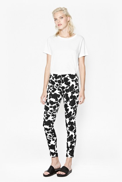 Animal Mechanical Printed Trousers