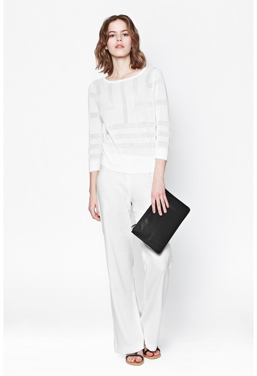 Laguna Linen Flared Trousers