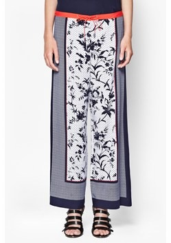 Imperial Drape Flared Trousers