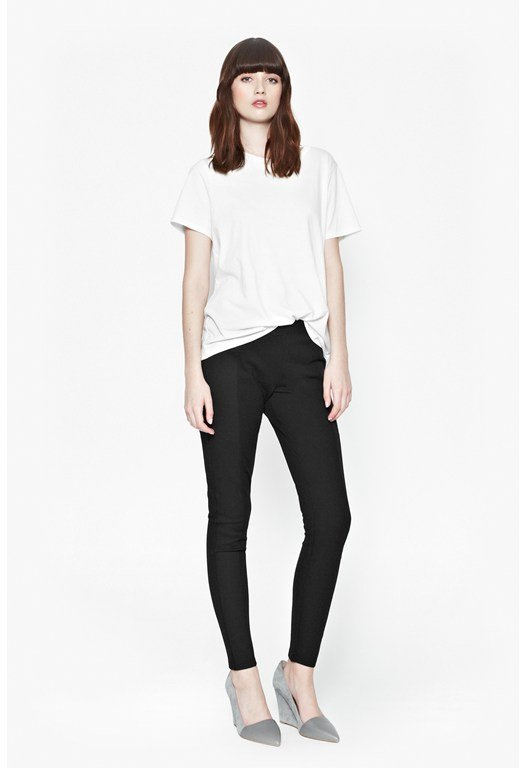Ponte Mix Panelled Trousers