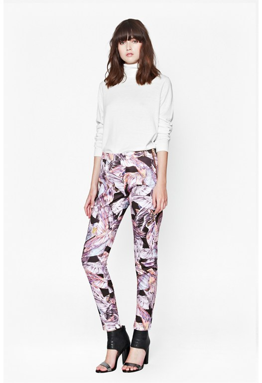 Calliope Cotton Printed Trousers