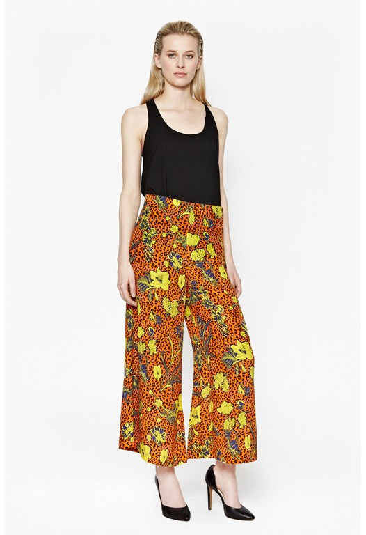 Surf Island Wide Leg Trousers
